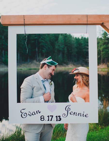 photocall casero bodas de oro
