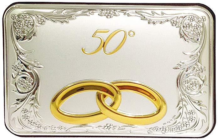 placa conmemorativa 50 aniversario