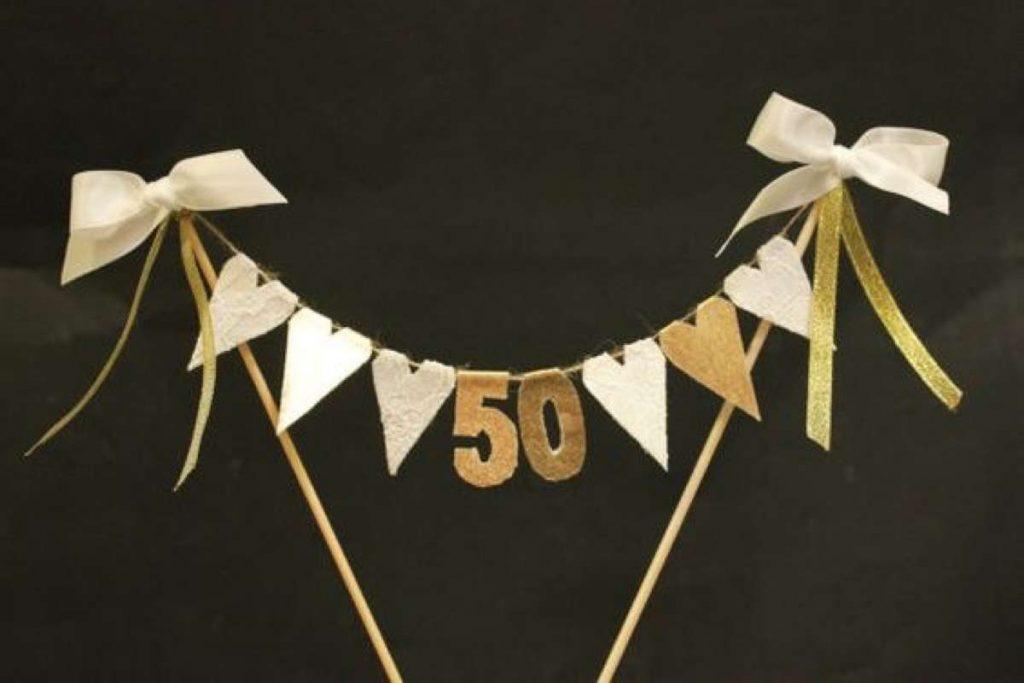 bodas de oro felicidades