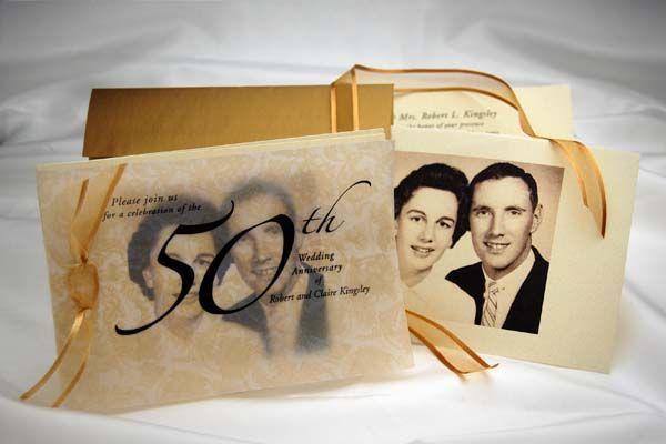 tarjetas bodas de oro 50 años